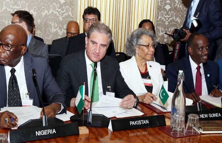 FM Qurashi reiterates Pakistan's commitment to deliver on Commonwealth's vision