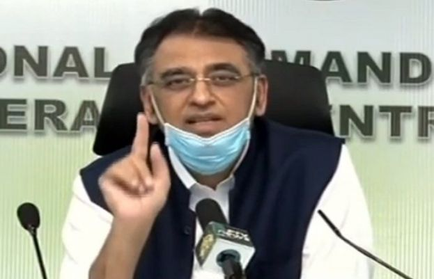 Pakistan's coronavirus cases to hit one million by end July if SOPs ignored: Umar