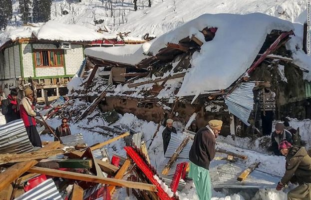 Avalanche Hit Areas AJK