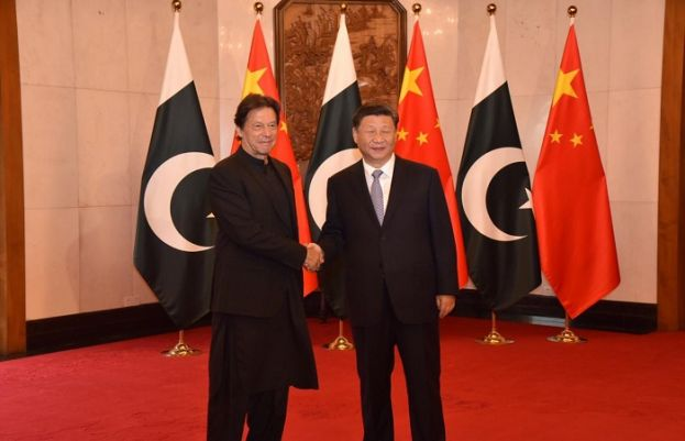 Prime Minister Imran Khan and Chinese President Xi Jinping