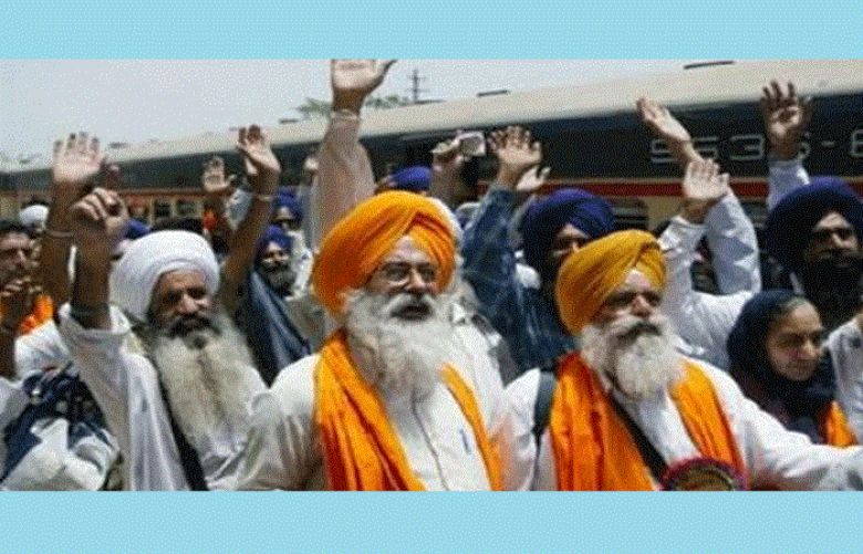 Indian Sikh pilgrims arrive Pakistan to attain Ranjit Singh's death anniversary
