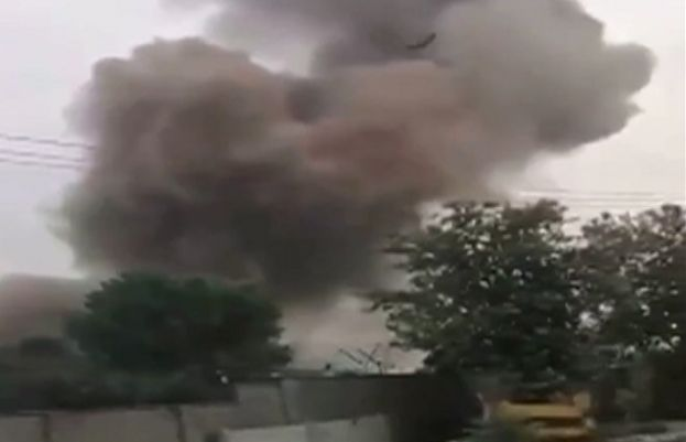 explosion occurs at POF in Wah Cantt