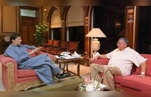 Prime Minister Imran Khan and Shaukat Tareen