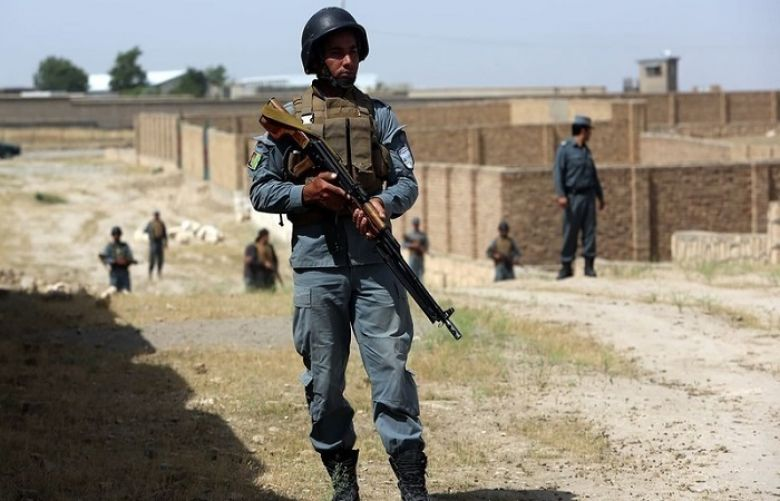 At least 10 Afghan policemen killed in Taliban attack
