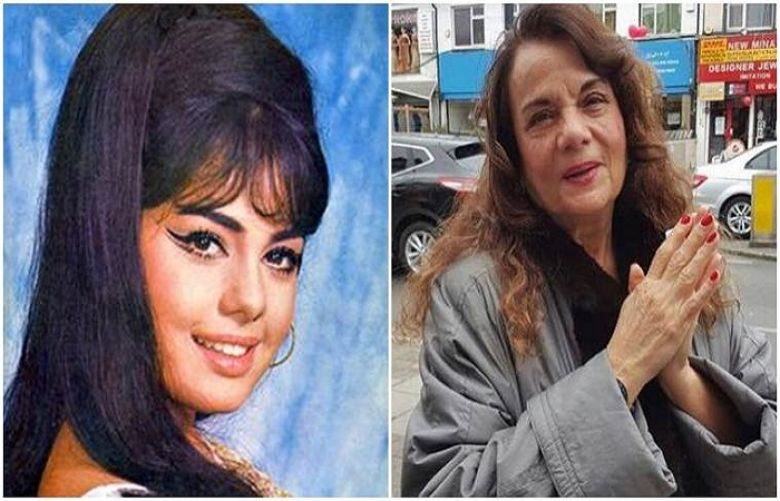 Yesteryear diva Mumtaz spotted in London but you can hardly recognise her. See viral pic