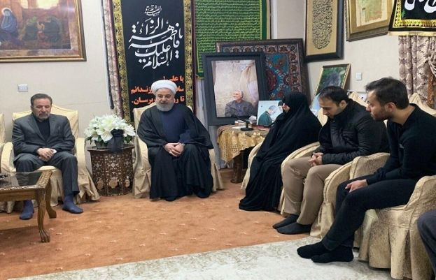Iranian President calls on Gen Soleimani 's family