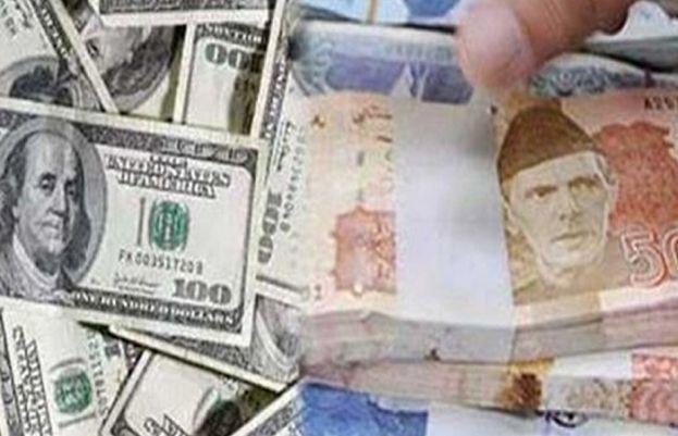 US dollar rate against Pakistani rupee