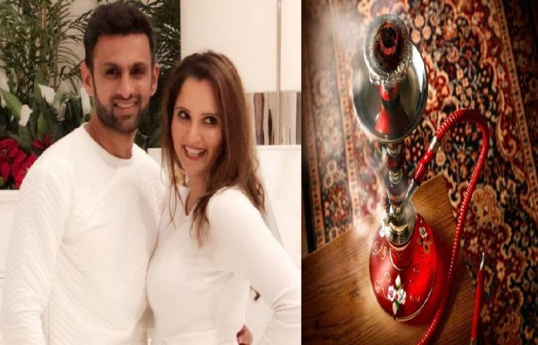 Pakistani Cricketer Shoaib Malik and Indian tennis star, Sania Mirza