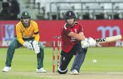 Brilliant Bairstow powers England to victory in first T20