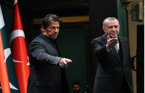 PM Khan 'deeply' appreciates Turkish president raising voice for Kashmiris