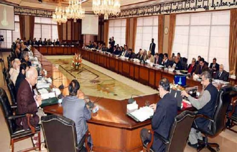 Federal cabinet approves LNG trade agreement between Pakistan, Oman