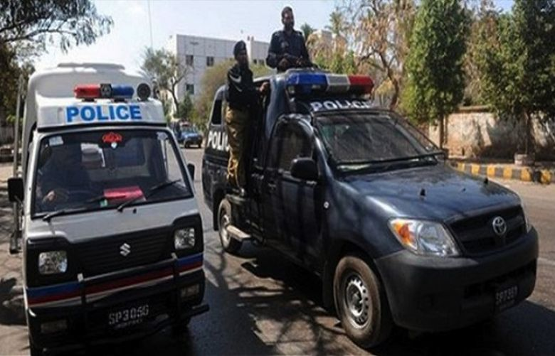 Three terrorists killed in a police encounter near Northern Bypass area Karachi
