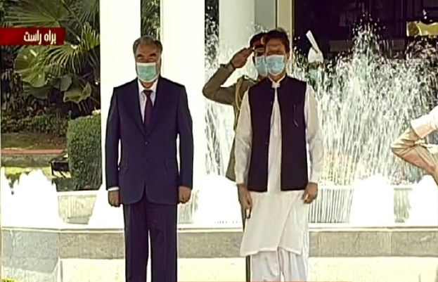 PM Imran Khan, Tajik president discuss bilateral relations