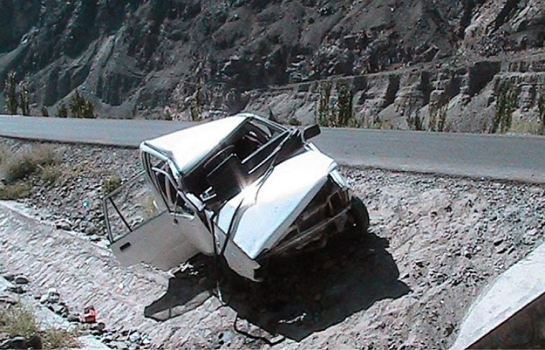 road accident on KKH