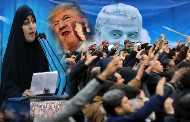 Soleimani's Daughter warns of 'dark day' for US