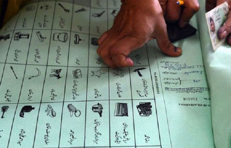 Five arrested with fake ballot papers in Umarkot
