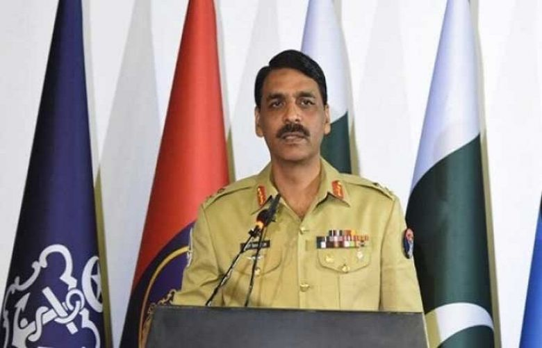 Director-General of Inter-Services Public Relations Major General Asif Ghafoor