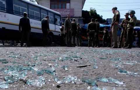 Grenade attack in Indian-occupied Kashmir injures 18