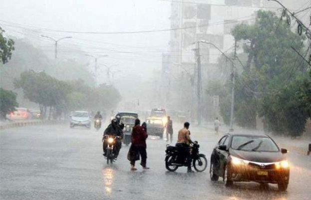 PMD forecast rainfall with wind and thunderstorm from Friday