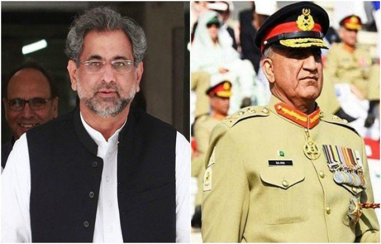 PM Abbasi, COAS Gen Bajwa arrive in Saudi Arabia to inspect IMCTC exercises