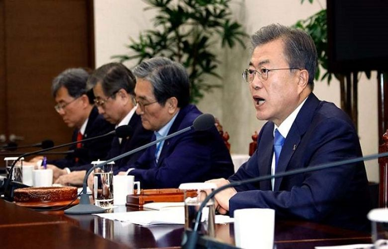 South Korea's Moon urges new US-North denuclearisation talks