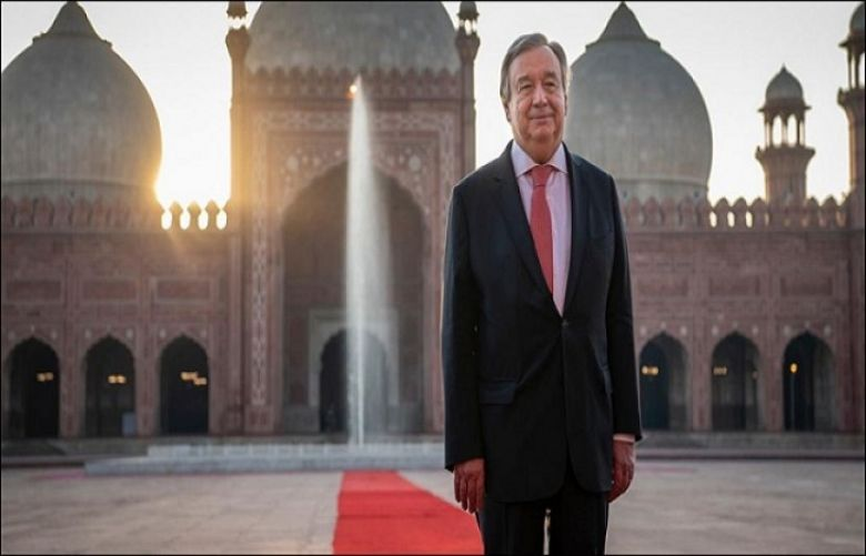 UN Secretary General Antonio Guterres left Pakistan