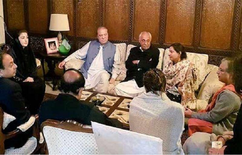 Nawaz Sharif, Maryam Nawaz Visit Asma's Family For