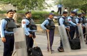 Heavy police contingents deployed at Islamabad's entry and exit points