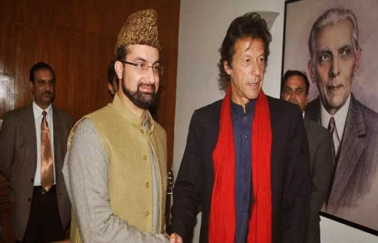 Hurriyat Leaders Congratulated Prime Minister Imran Khan