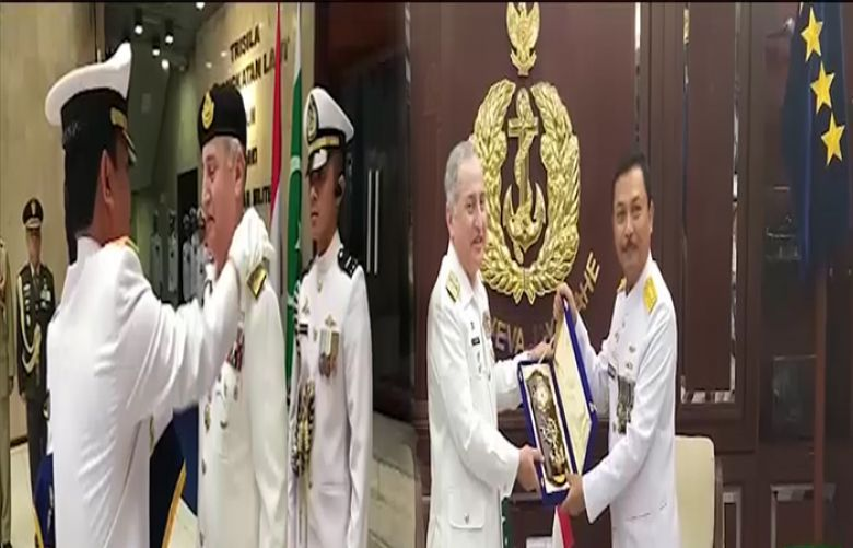 Indonesia confers highest military award upon Naval Chief
