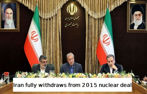 Iran Fully Withdraw from 2015 Nuclear Deal
