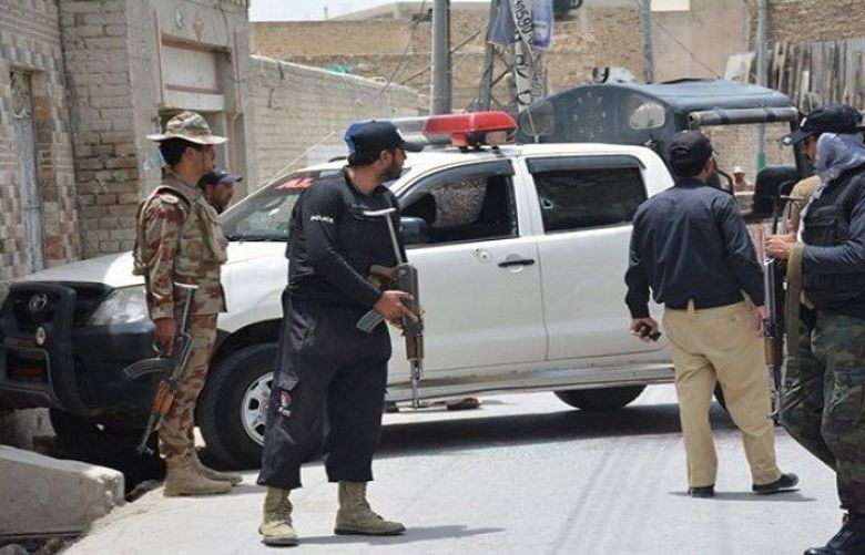Two police martyred in Quetta firing