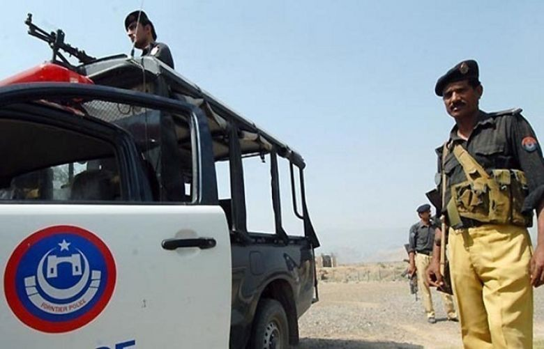 Five police personnel were martyred in a firing incident over a police van in DI Khan