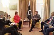 PM Imran meets IMF President Kristalina Georgieva in Davos