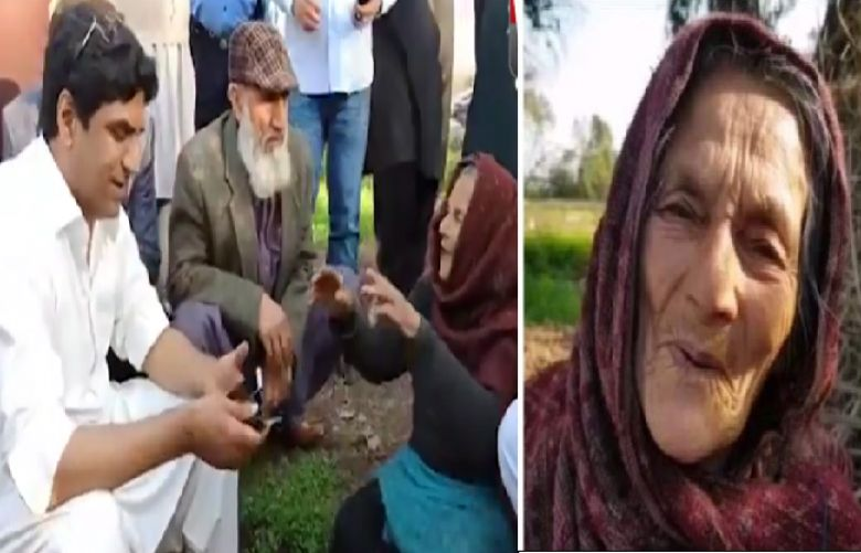PM Imran Khan taking notice of a video clip showing a destitute woman Naseem Bibi appealing to him