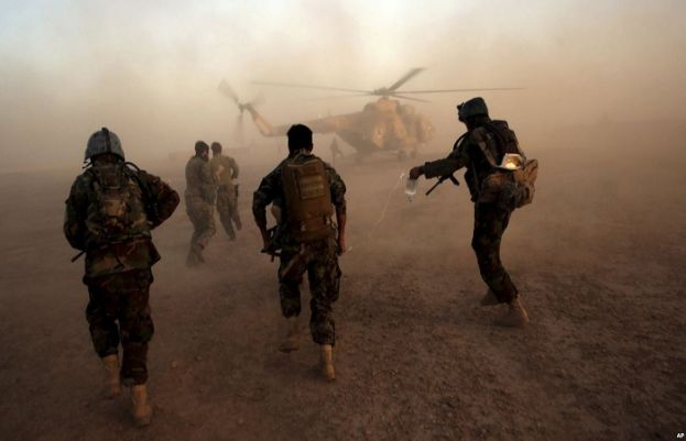 15 Afghan border guards killed in clashes