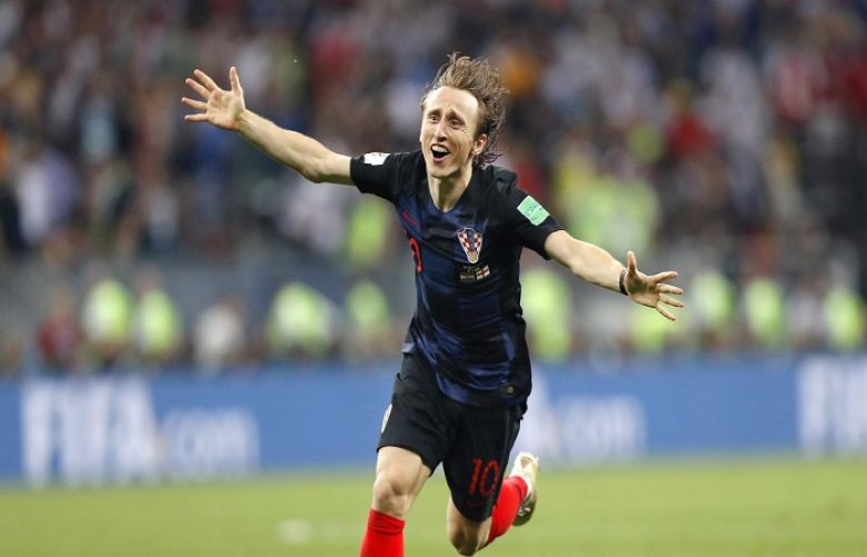 Luka Modric named UEFA player of year