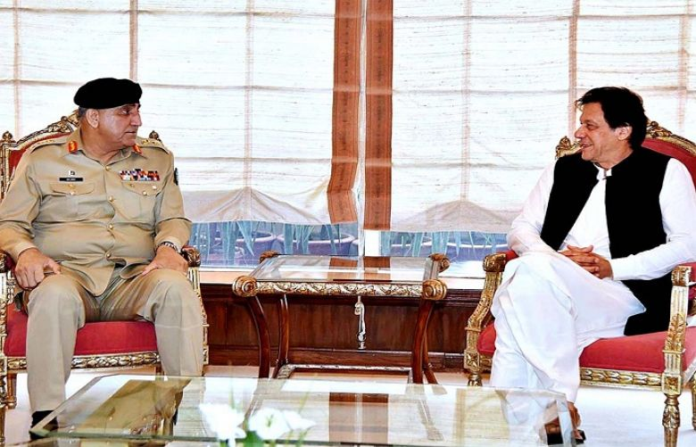 COAS General Bawaja Calls meets PM , Briefly Discussed IOK
