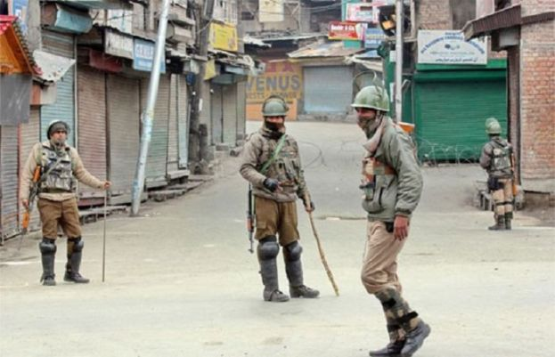 Martyrdom of 20; Complete Shutter Down in Kashmir