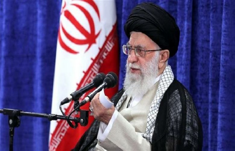 Leader of the Islamic Revolution Ayatollah Seyyed Ali Khamenei