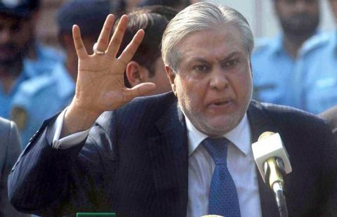 Federal Minister for Finance Ishaq Dar