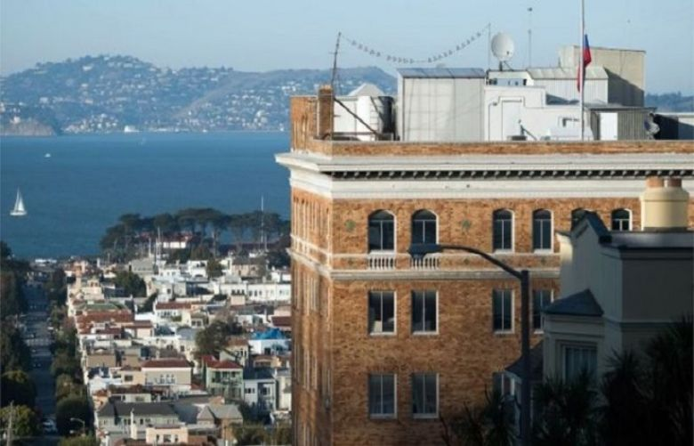 The closure of the San Francisco consulate leaves just three remaining in the US, a senior administration official says
