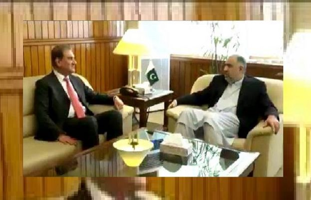 Foreign Minister Shah Mehmoud Qureshi and Speaker National Assembly Asad Qaiser
