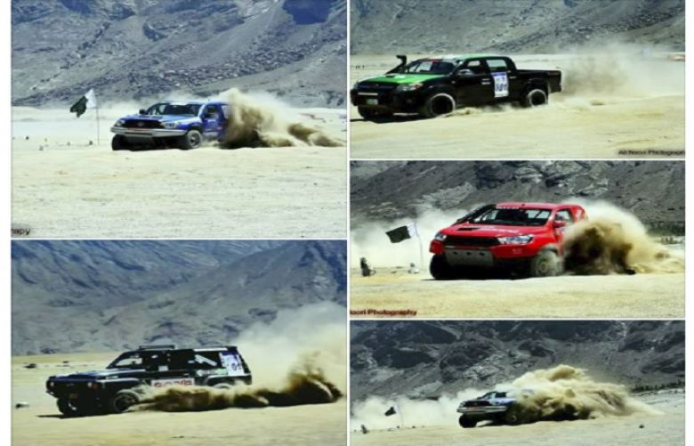 Jeeps, bikes head into final day of Skardu rally