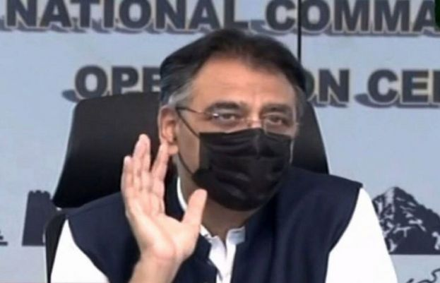 Vaccination is only solution to control corona: Asad Umer