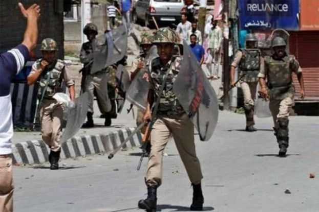 A complete shutdown is being observed today in Indian Occupied Kashmir