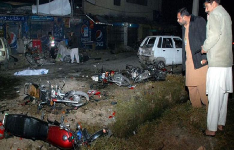 Suicide blast outside imambargah in Bolan district martyrs ten