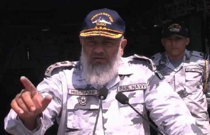 Commander Pakistan Fleet Admiral Syed Arifullah Hussaini