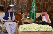 PM Imran meets Saudi King Salman, discusses matters of mutual interest
