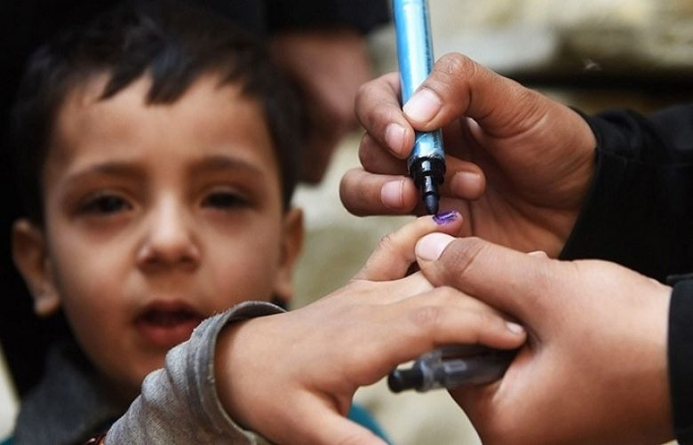 the total count of polio cases in the country reached nine in 2018.